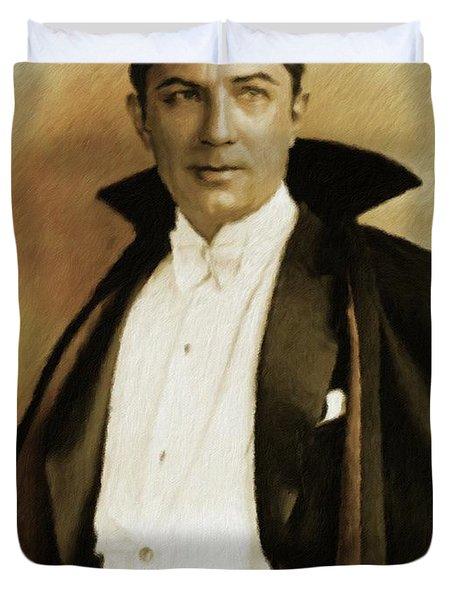 Bela Lugosi As Dracula Duvet Cover