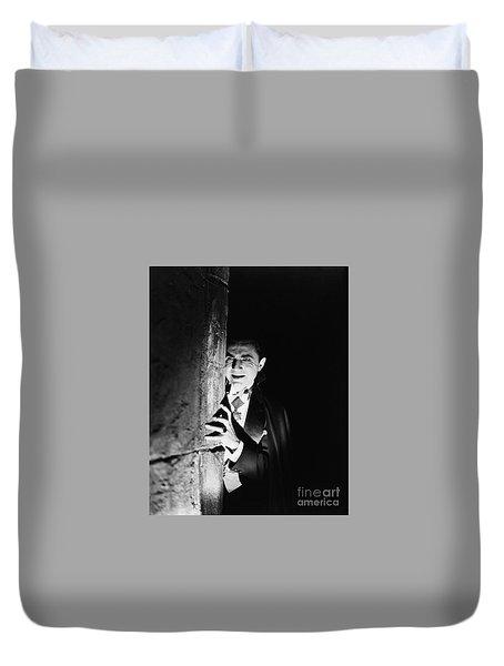 Bela Lugosi Dracula Duvet Cover