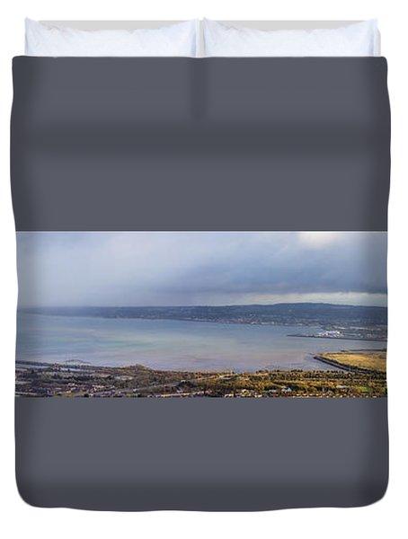 Belfast Lough  Duvet Cover