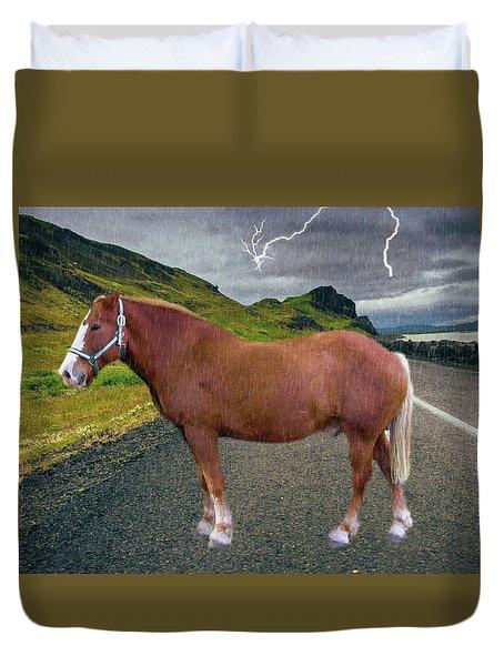 Belgian Horse Duvet Cover