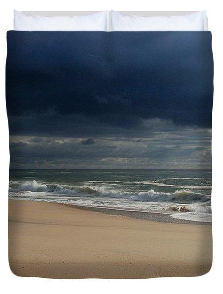 Believe - Jersey Shore Duvet Cover
