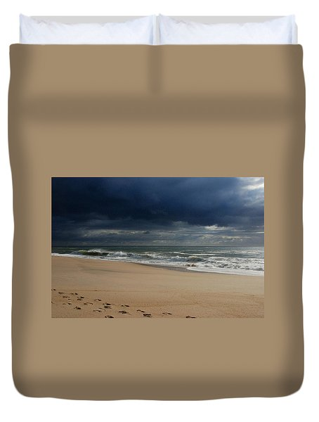 Believe - Jersey Shore Duvet Cover