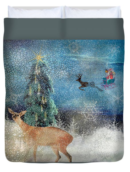 Believe Duvet Cover by Diana Boyd