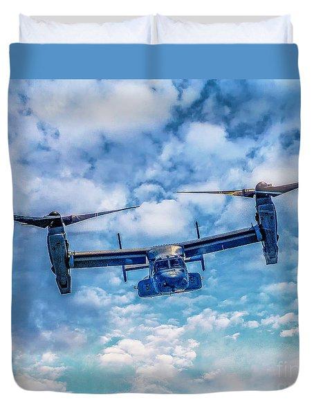Bell Boeing V-22 Osprey  Duvet Cover