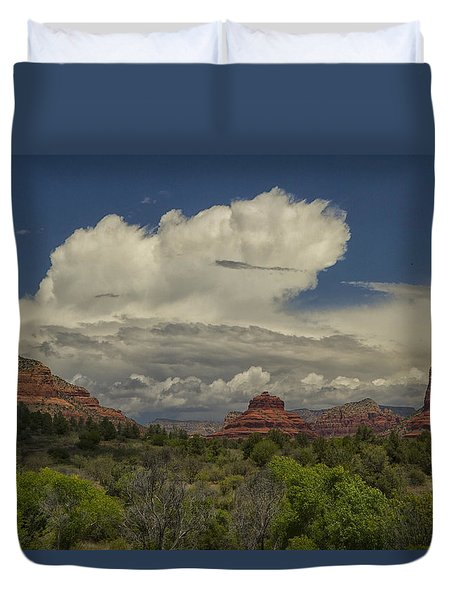 Bell Rock's Beauty Duvet Cover