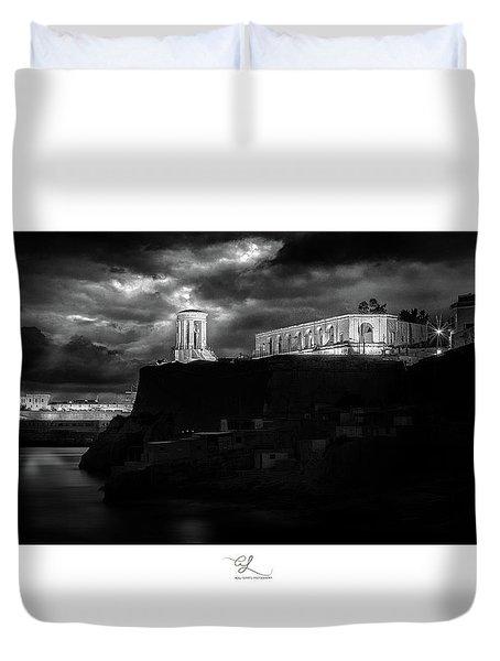 Bell Tower Memorial Duvet Cover