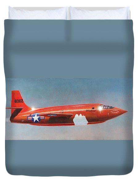 Bell X-1 Rocket Plane Duvet Cover