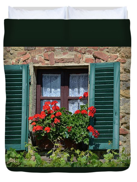 Bella Italian Window  Duvet Cover