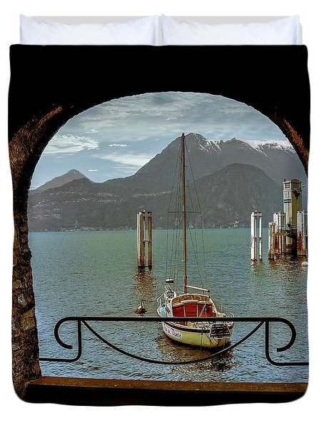 Bella Varenna - For Print Or Wrapped Canvas Duvet Cover