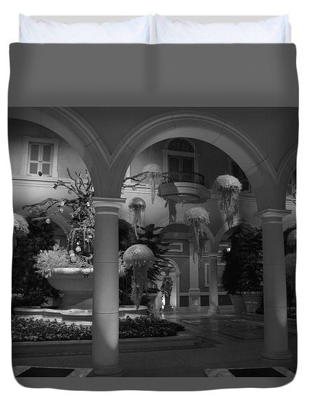 Bellagio Entrance Duvet Cover by Ivete Basso Photography