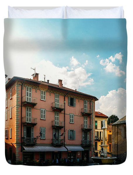 Bellagio, Lake Como, Italy. Duvet Cover