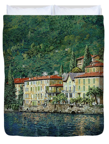 Bellano On Lake Como Duvet Cover