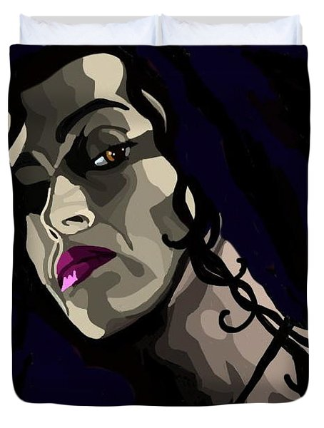 Bellatrix Duvet Cover by Lisa Leeman