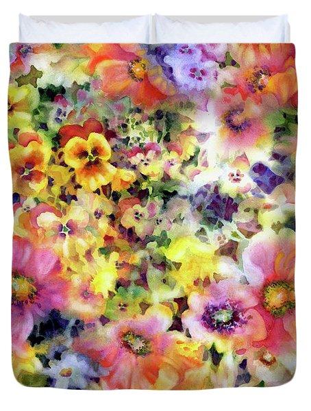 Belle Fleurs I Duvet Cover