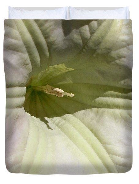 Duvet Cover featuring the photograph Belle Of The Ball by Betty Northcutt