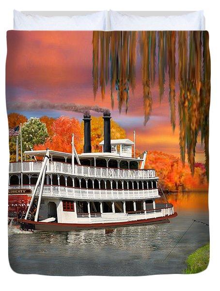 Belle Of The Bayou Duvet Cover by Glenn Holbrook