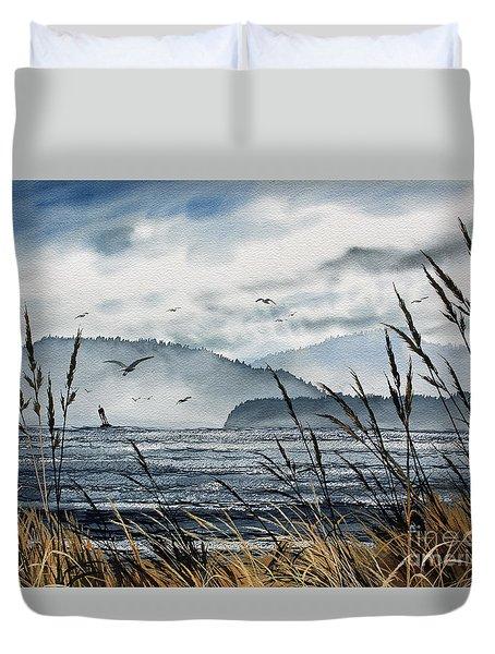 Bellingham Bay Duvet Cover by James Williamson