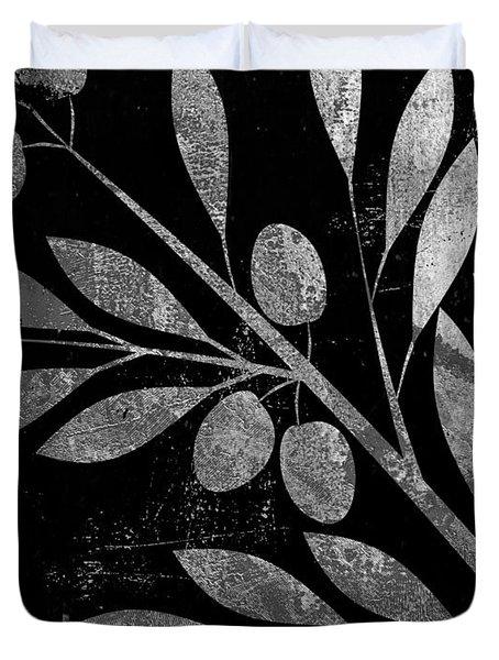 Bellisima Silver Duvet Cover