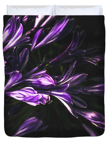 Bells And Flowers Duvet Cover