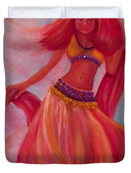 Belly Dancer Duvet Cover