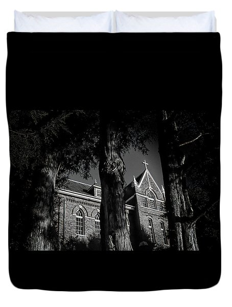 Belmont Abbey Duvet Cover