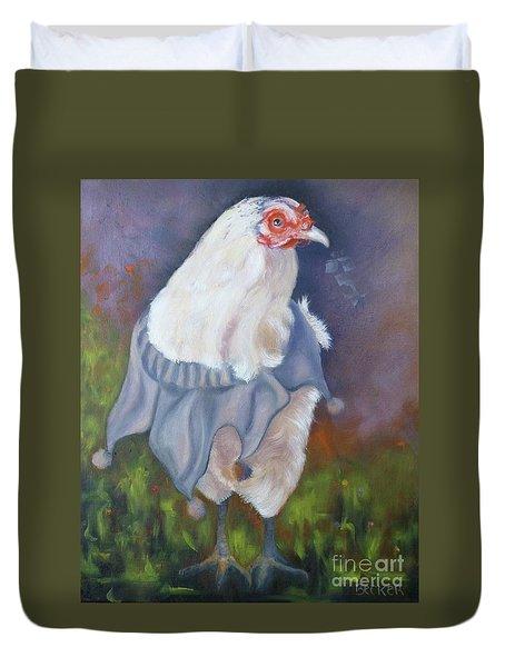 Beloved Chicken Duvet Cover