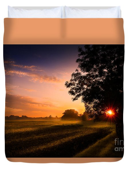 Beloved Land Duvet Cover