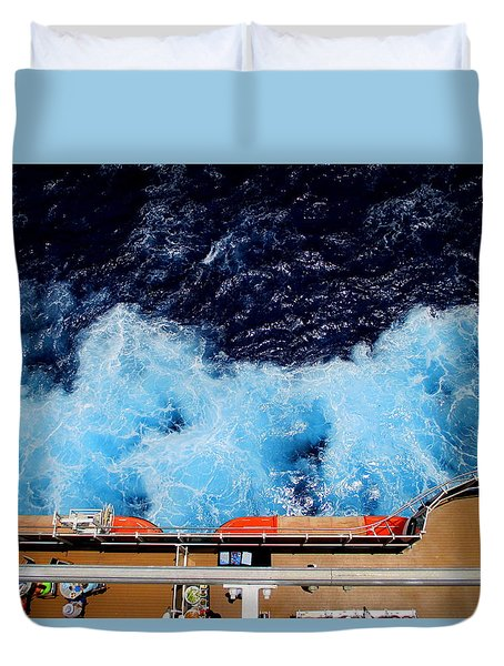 Below Deck Duvet Cover