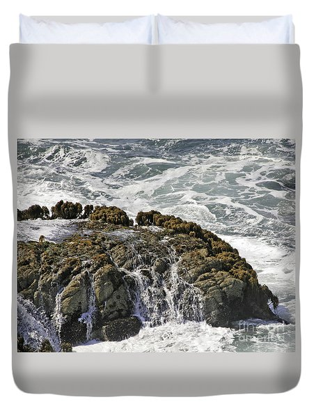 Below Salmon Creek Duvet Cover
