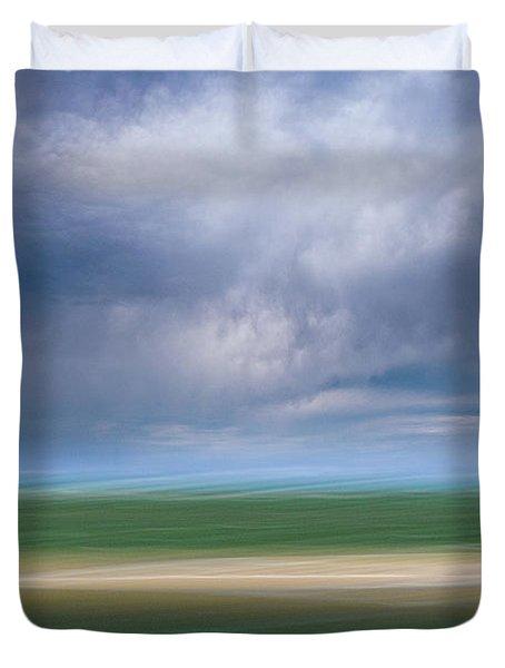 Below The Clouds Duvet Cover