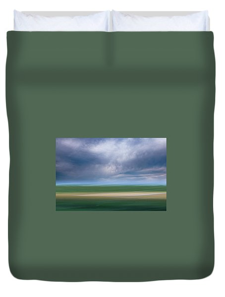 Below The Clouds Duvet Cover