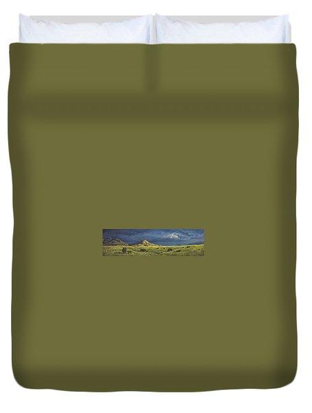 Belt Butte Spring Duvet Cover