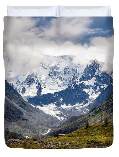 Belukha Mountain. Altay. Russia Duvet Cover