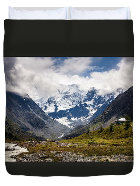 Belukha Mountain. Altay. Russia Duvet Cover