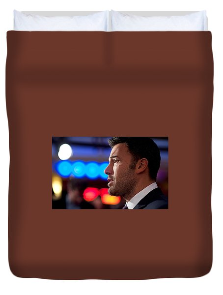 Ben Affleck Duvet Cover