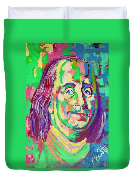 Ben Franklin Duvet Cover