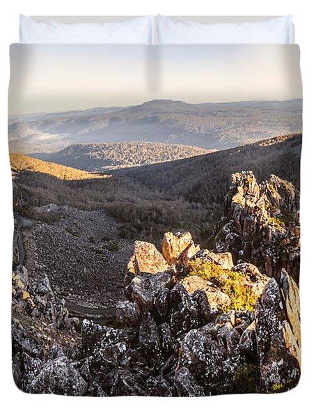 Ben Lomond National Park Duvet Cover