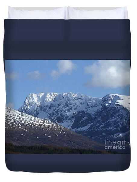 Ben Nevis North Face Duvet Cover