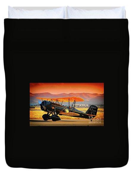 Ben Scott's Stearman Speedmail 4e Version 2 Duvet Cover