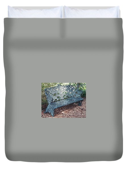 Bench Duvet Cover