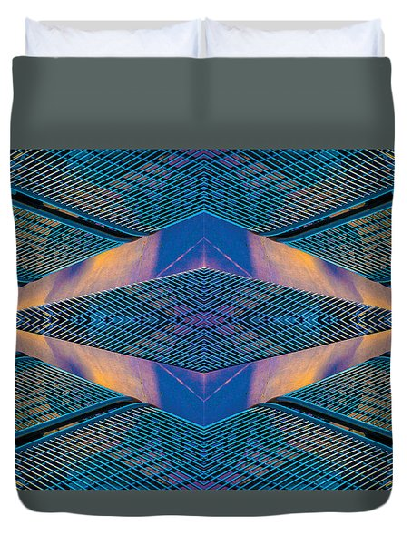 Bench N78v3 Duvet Cover by Raymond Kunst