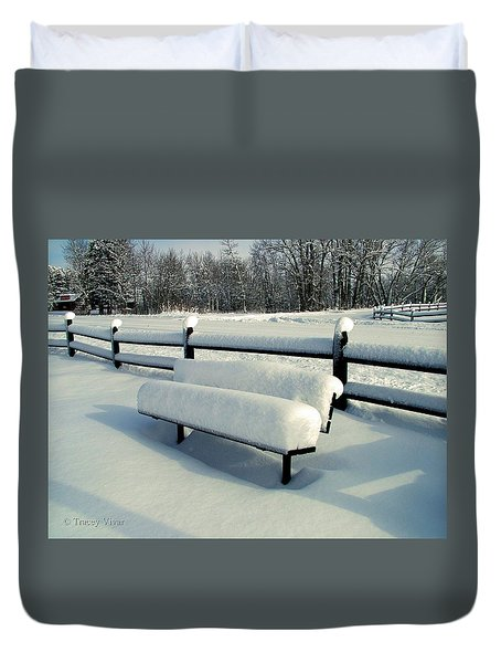 Benched Duvet Cover