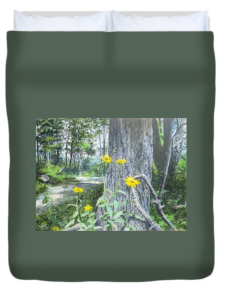 Bend In The Road Duvet Cover