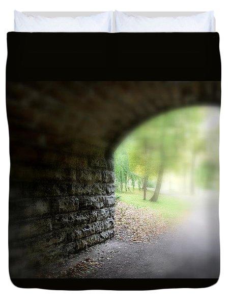Beneath The Bridge Duvet Cover