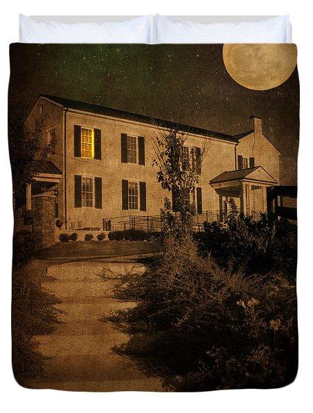 Beneath The Perigree Moon Duvet Cover