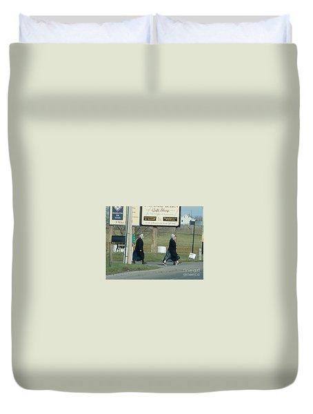 Benefit Auction Duvet Cover