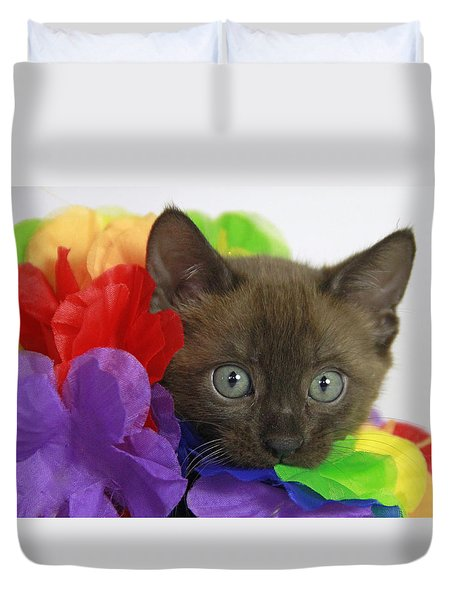 Bengal Colors Duvet Cover by Shoal Hollingsworth