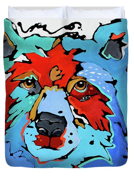 Benjamin The Bear Duvet Cover