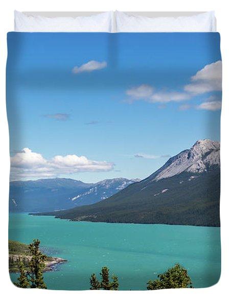 Tagish Lake Duvet Cover