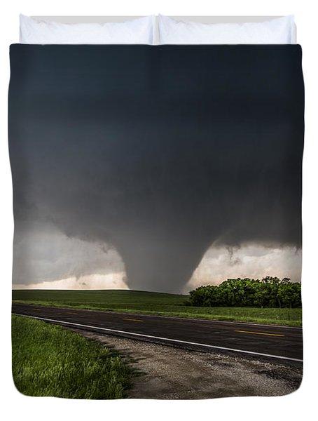 Bennington Kansas Wedge Duvet Cover